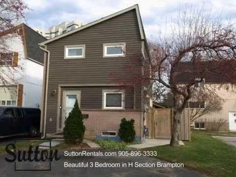 Brampton Detached Houses for Rent 50 Hoskins Square