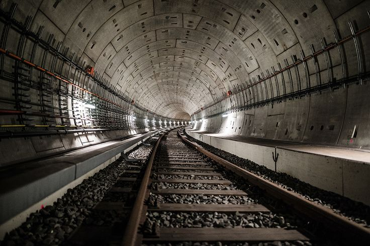 Berlin's subway tunnels in photos