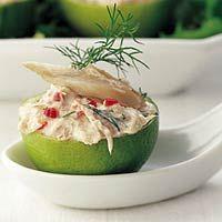 Recept - Gevulde limoenen met makreelmousse - Allerhande #dutchlanguage
