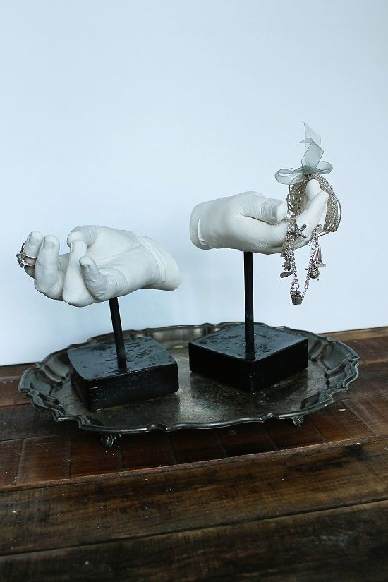 DIY Cast Hands Sculpture {Contributor Column} - Adventures in Renovating a Brooklyn Limestone