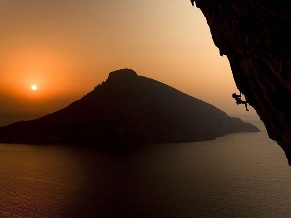 "Kalymnos Island        Rock climbers in the know refer to the Greek island of Kalymnos as ""Kaly."" Climber-friendly formations on its towering beachside cliffs have made this Aegean jewel an international climbing destination since the mid-1990s."