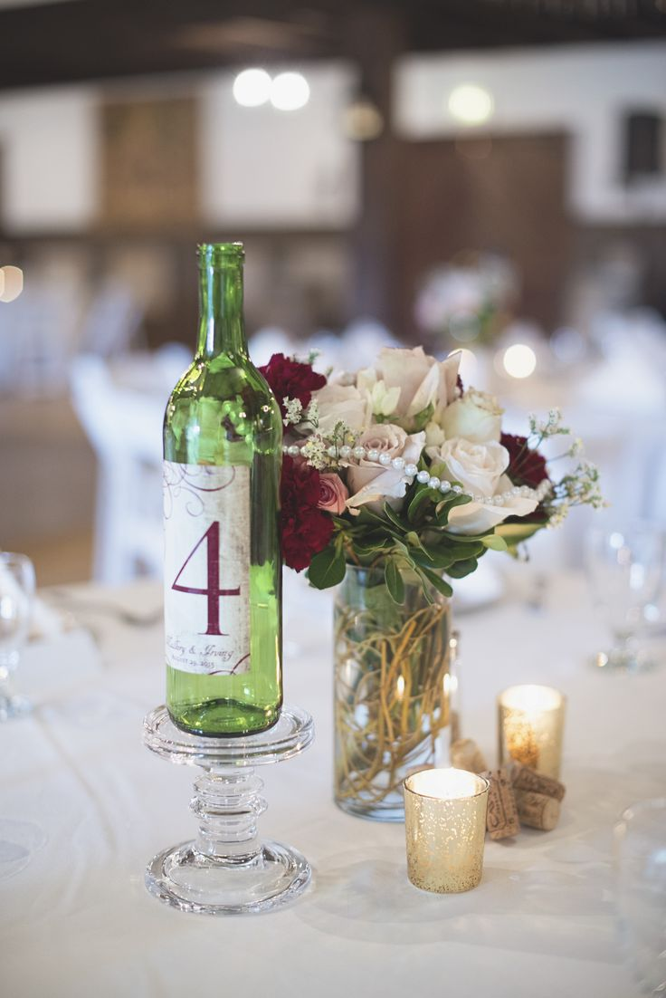 Best 20 winery wedding centerpieces ideas on pinterest Wine bottle wedding centerpieces