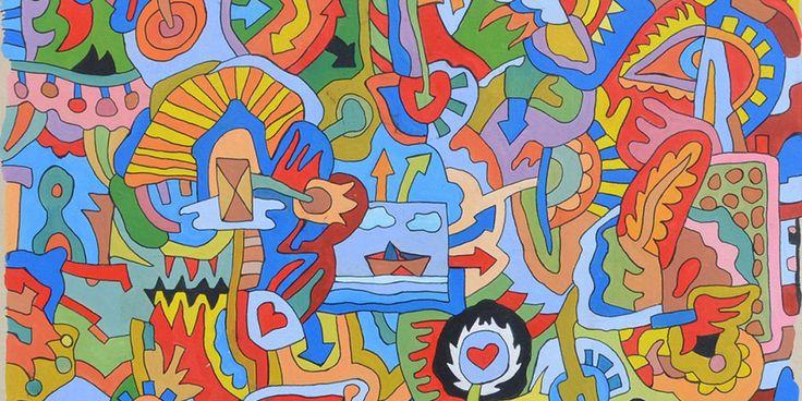 """Γεράσιμος Στέρης (1898-1987): """"Ηρωϊκό"""", λάδι σε χαρτόνι    Σπάνια έργα Τέχνης του  19 ου  και 20 ου  αιώνα  σημαντικών Ελλήνων εικαστι..."""