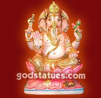 Lord Ganesha #Hindu #handicraft #deity #statue #art