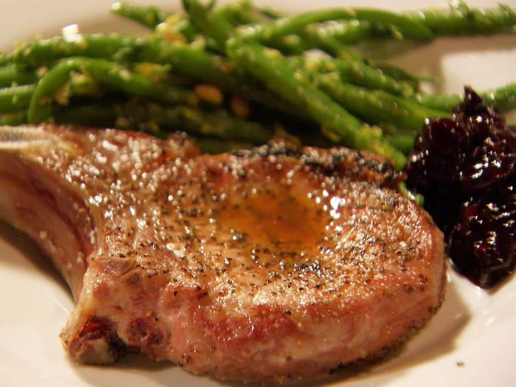 Grilled Pork Chops - Ina Garten in Napa