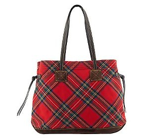 Dooney & Bourke Signature Tartan Plaid Tote