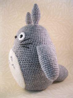 Patron Totoro Amigurumi español Lucy Collins - Ciao Pescao