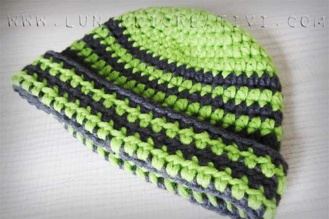 LUNAdei Creativi | Cappello MyBoshi per Bebè: Tutorial | http://lunadeicreativi.com