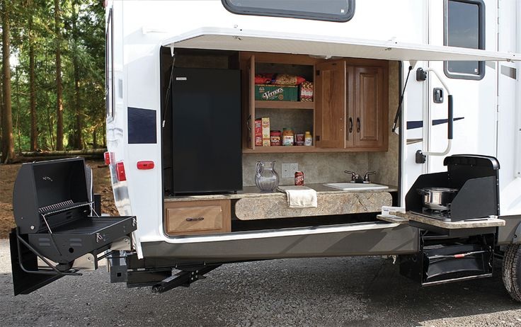 151 best images about rv camper space saving ideas on for Camp trailer kitchen designs