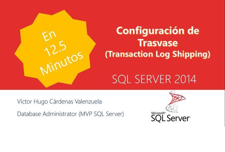 La trasvase de registros permite enviar automáticamente copias de seguridad del registro de transacciones desde una base de datos principal de una instancia del servidor principal a una o varias bases de datos secundarias en instancias - SQL Server -