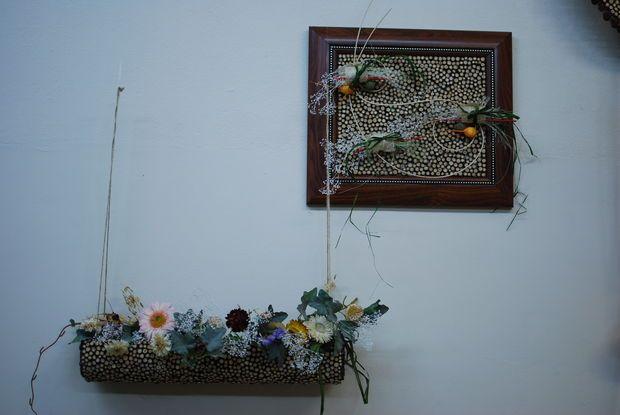 fai da te caduta arredamento di ispirazione immagine floristica piccolo ramoscelli decorazione di legno