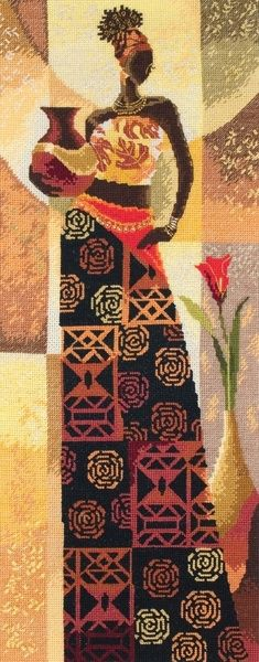 Naima - Counted Cross Stitch Kit