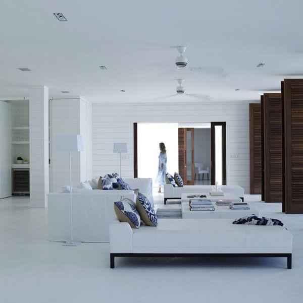 Luxury beach house interior design