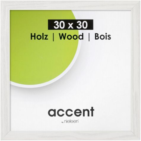 Nielsen Accent Magic 30x30 Holz Weiß 9733000