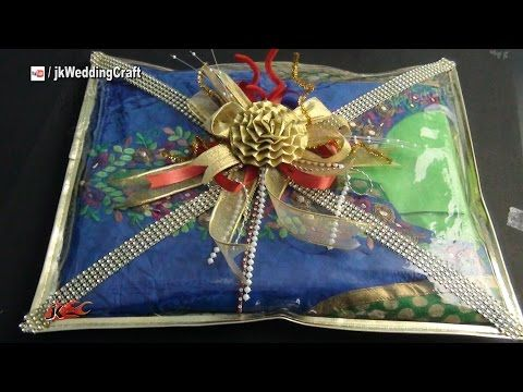 Ideas Wedding Gift Packaging easy gift packing ideas for wedding trousseau how to pack indian dress jk craft 044 youtube