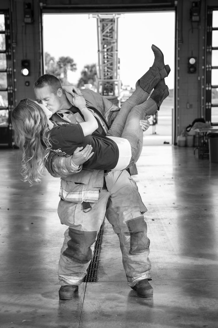 Firefighter Engagement Photo Session by Patrick Buckley Images