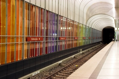 The subway station in Munich.