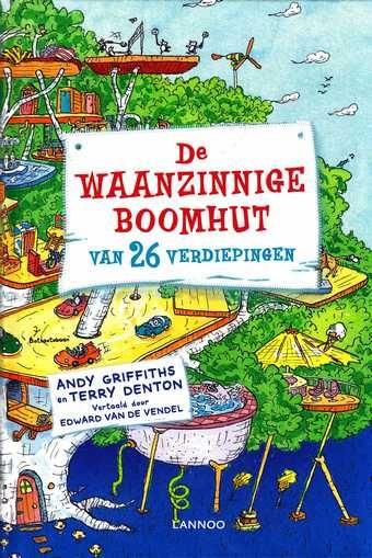 De waanzinnige boomhut van 26 verdiepingen van Andy Griffiths B Jeugdleesboeken 2014  Boeken schrijven Fantasie