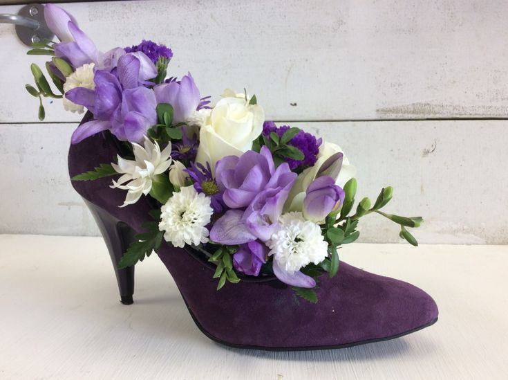 The Flower Shoe is a perfect combination for any shoe and flower lover.