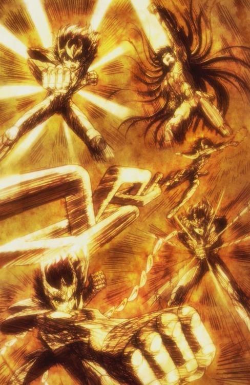 Los legendarios caballeros de bronce | Saint Seiya
