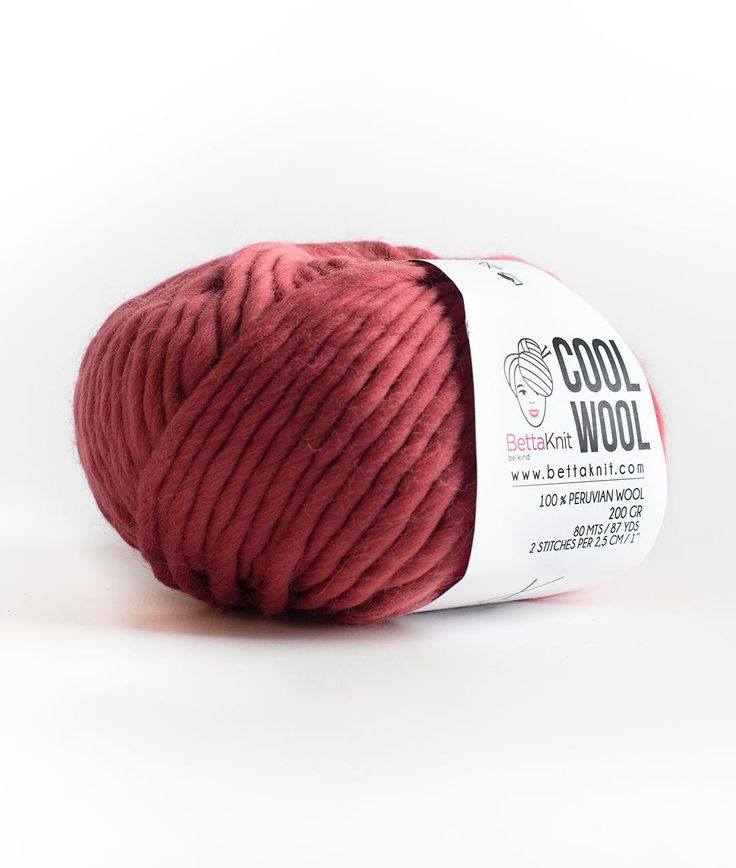 Cool Wool is 100% Peruvian Wool. Warm, soft and chunky. Available in 200 gr balls is extraordinary and unique. Perfect for beginners and special knit projects.