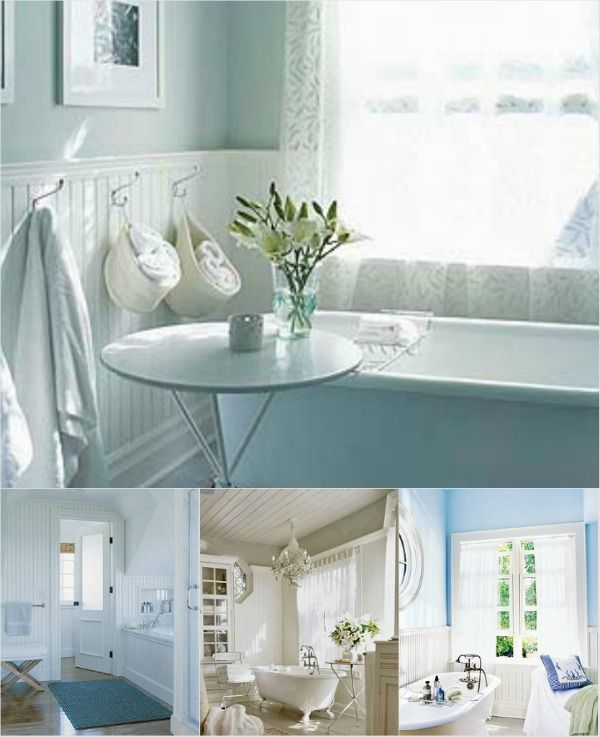 131 best images about ideas for the house on pinterest for Beach house bathroom ideas