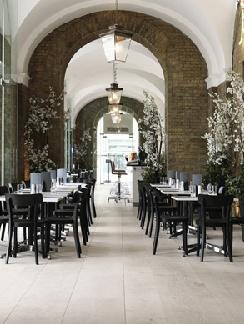 restaurant interior - Light Hardwood Restaurant Decoration