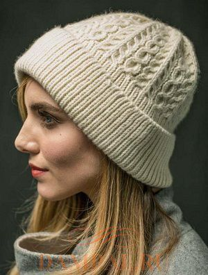 теплая вязаная шапка Wayworn описание вязаные женские шапки