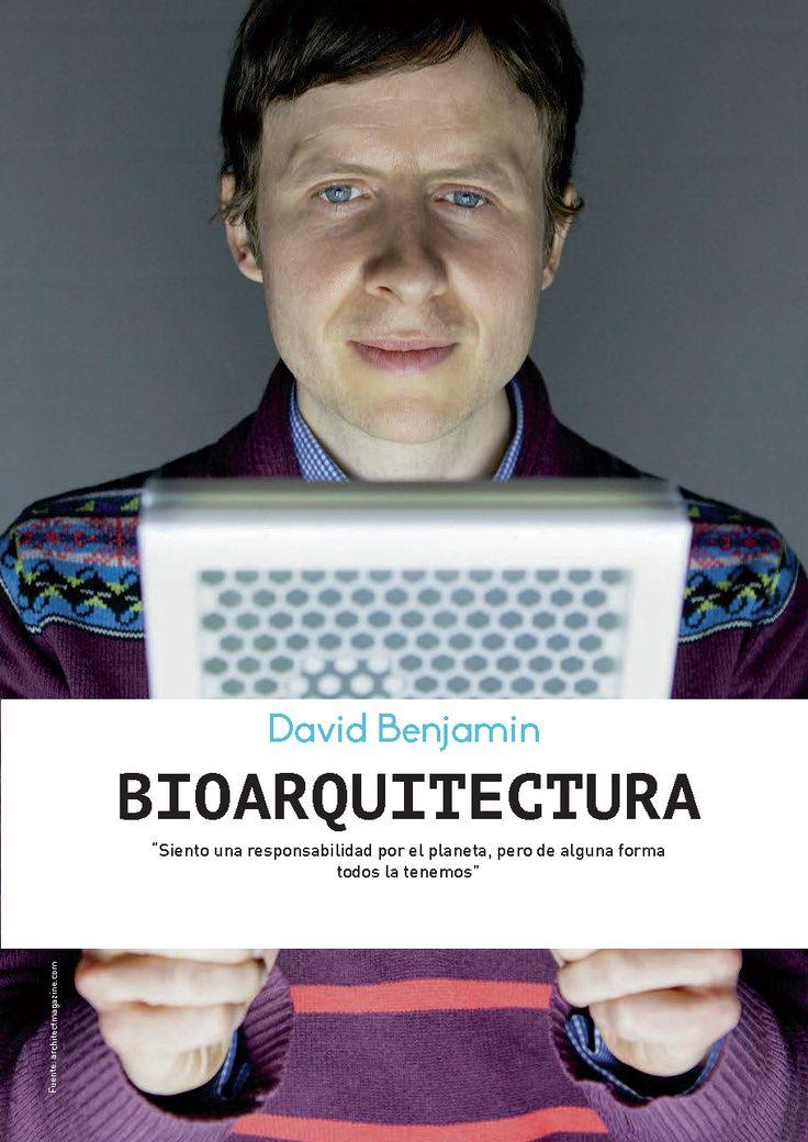 Arquitectura Sustentable - Bio arquitectura - David Benjamin
