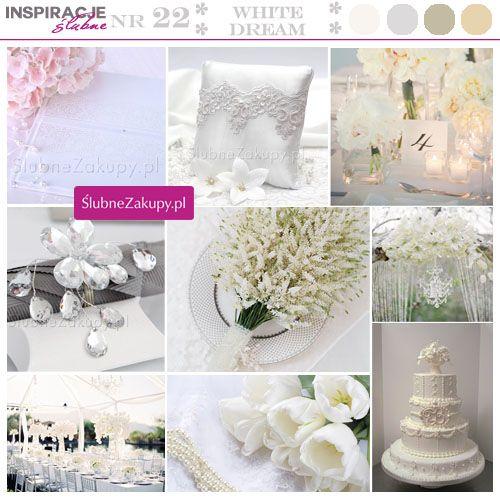Biel to tradycyjny kolor na ślub i wesele. Elegancki i ze smakiem!