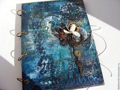 """Блокнот для иллюстраций """"Волшебная ночь"""" - блокнот для эскизов,блокнот"""