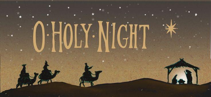 O Holy Night Tearfund Charity Christmas Cards