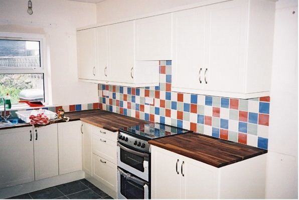 Multi Coloured Tiles Kitchens Google Search Decorating