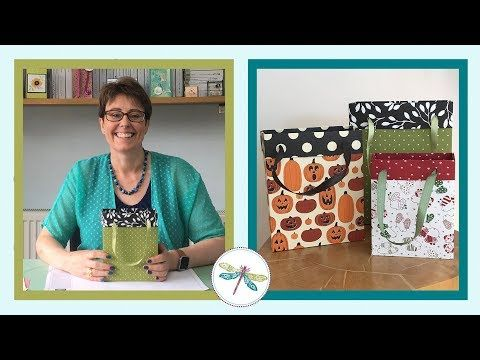 Make Any Size Gift Bag Video 1 - YouTube