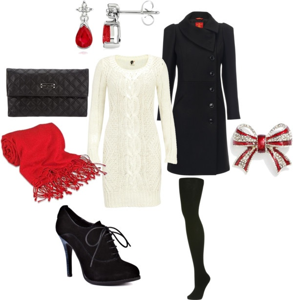 """Cozy Christmas outfit"" by cassbass519 on Polyvore"