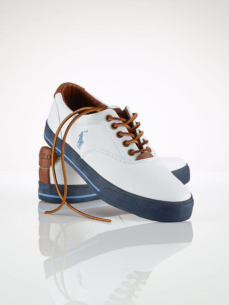 Vaughn Canvas Sneaker - Shoes Polo Ralph Lauren - Ralph Lauren UK