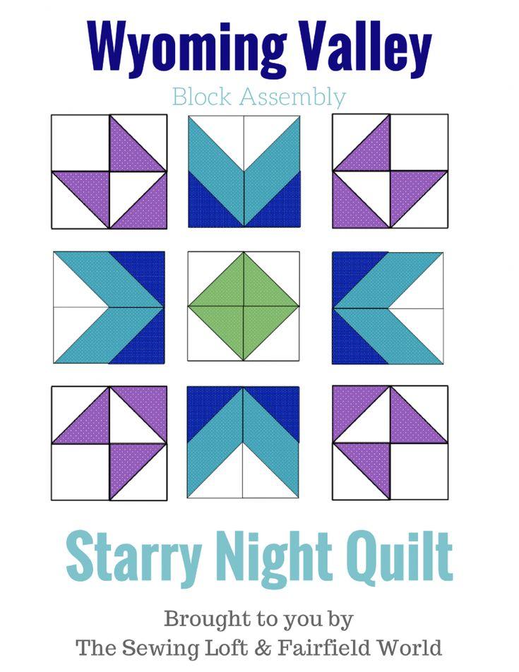 Starry Night Quilt Sampler Block 10