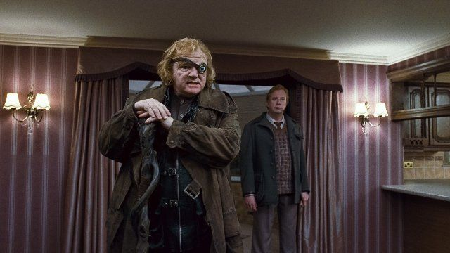 Still of Brendan Gleeson and Mark Williams in Harry Potter and the Deathly Hallows: Part 1 (2010)
