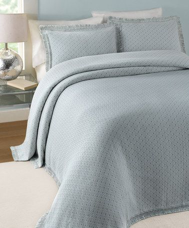 look what i found on zulily blue elena bedspread by lamont home zulilyfinds