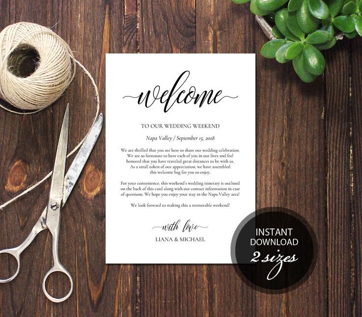 Editable PDF Wedding Itinerary Card Welcome Bag Note Calligraphic Welcome Letter Template Instant download card DIY Printable card #DP110_40 by DreamPrintable on Etsy #wedding #instant #download #printable #image #graphic #digital #reception_sign #PDF #Template #wedding_ceremony #wedding_sign #Calligraphy #Sign #events #events_design #wedding_printable #wedding_design