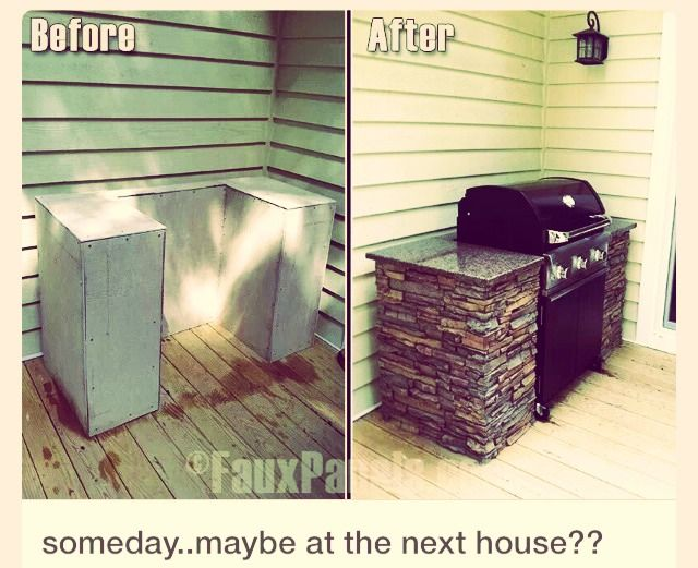 Totally Doing This!!! DIY BBQ Pit Station