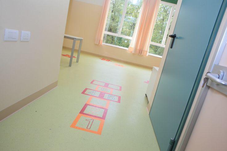 L'ingresso della palestra pediatrica