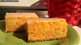 DIN SERTARUL CU REȚETE: Prăjitură cu morcovi