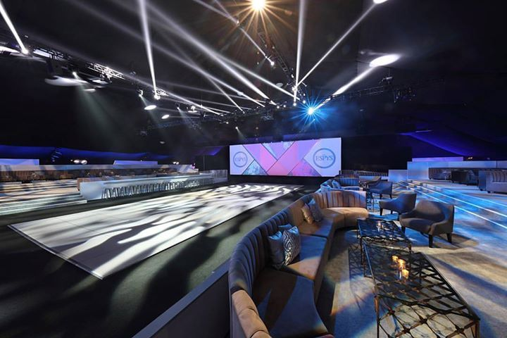 When used properly lighting can evoke emotions at events. We are still loving the lightsaber spot lights we used at the ESPYS. #ESPYS #dramatic #lighting #events - http://ift.tt/1HQJd81