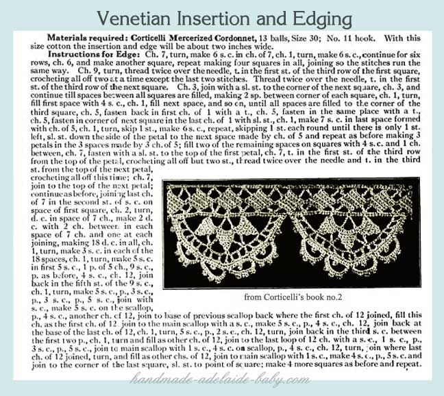 Crochet Pattern Central Edgings : 17 Best images about Crochet edgings, borders on Pinterest ...