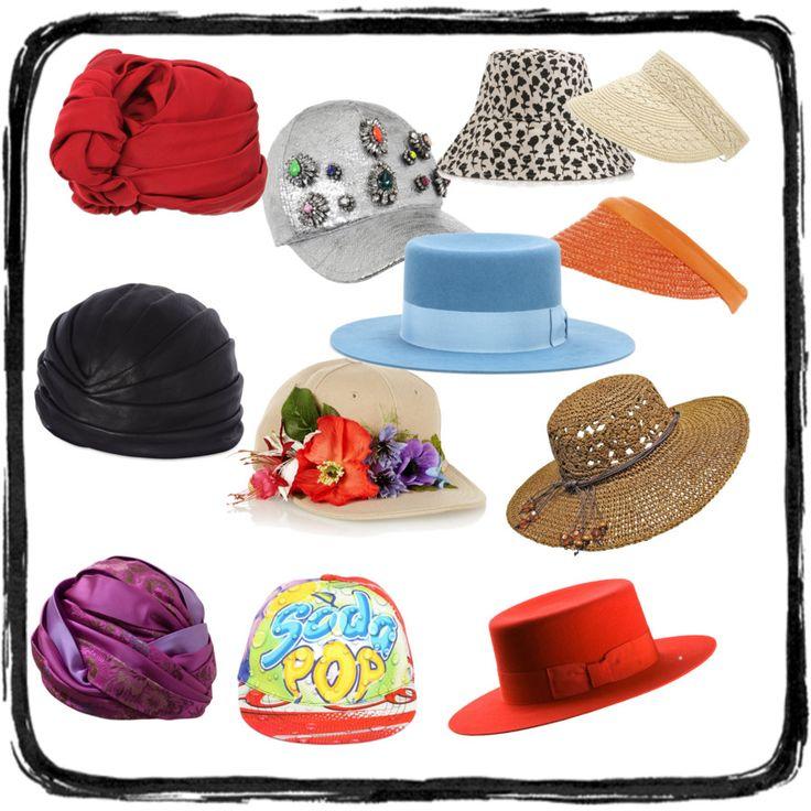 Czapki z daszkiem, turbany, kapelusze retro i sielskie słomkowe oraz daszki - czyli najmodniejsze okrycia głowy  w tym sezonie.