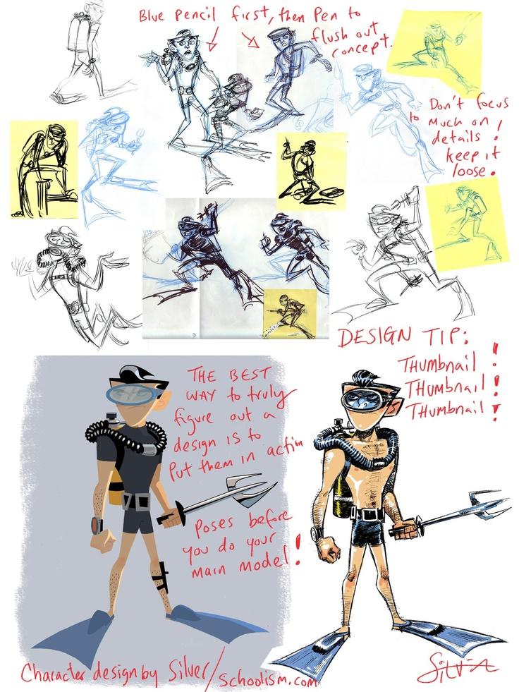 Character Design Animation Tutorial : Stephen silver tutorials pinterest character design