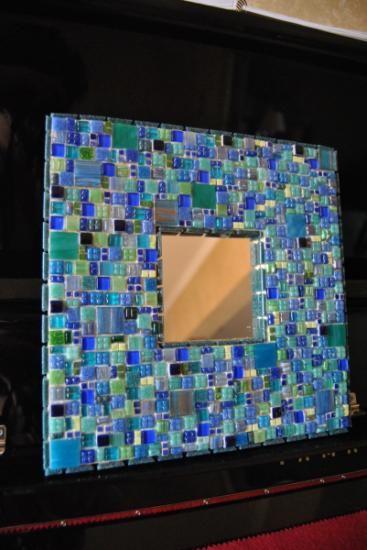 17 mejores ideas sobre espejos en mosaico en pinterest - Espejos de ceramica ...