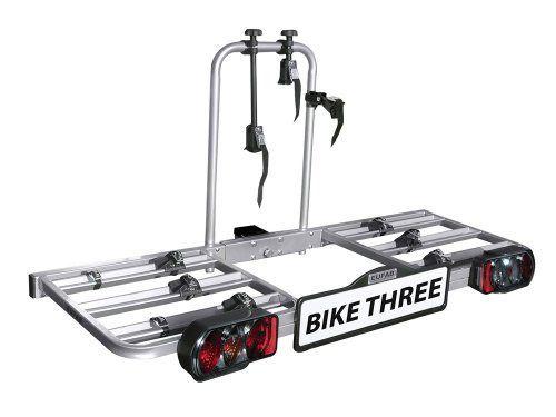 EUFAB BIKE THREE 11412 Porte-vélos: Porte velo Bike three 3 velos fixe sur boule attelage ref 11412 pour vélo Vtt, Ville, Route, Electrique…