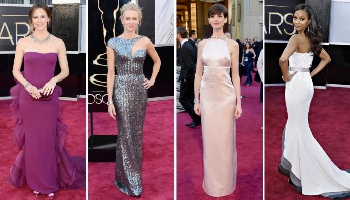 Oscars 2013: fashion trends